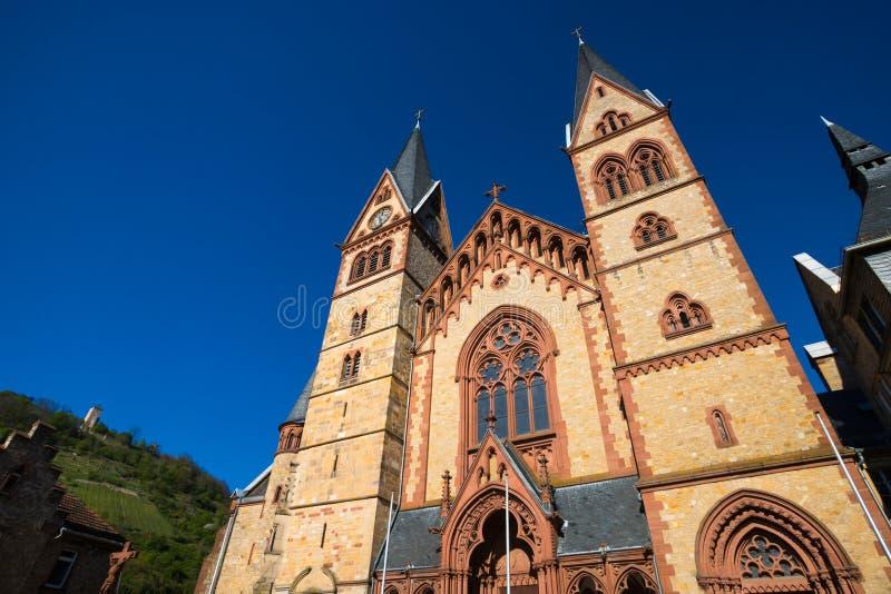 Ιστορική πόλη heppenheim bergstrasse hesse Γερμανία στοκ εικόνες