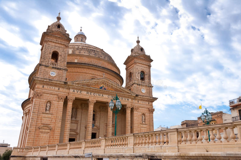 Ιστορική πόλη της Μάλτας Mgarr στοκ εικόνα με δικαίωμα ελεύθερης χρήσης