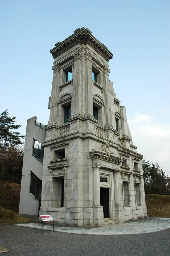Ιστορικός προϊστάμενος του γραφείου της τράπεζας Kawasaki σε Meiji Mura, Ιαπωνία στοκ εικόνες