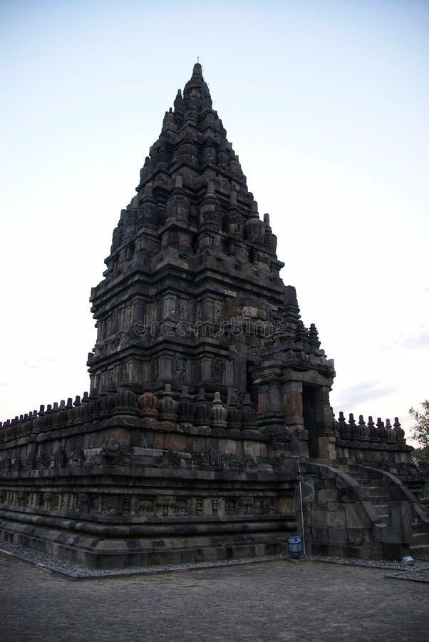 Ιστορικός σύνθετος Prambanan σε Yogyakarta, Ινδονησία στοκ εικόνες με δικαίωμα ελεύθερης χρήσης
