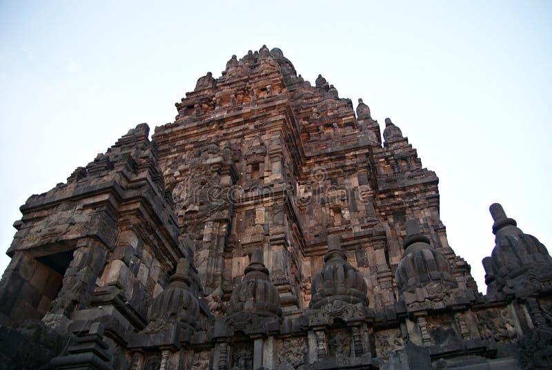 Ιστορικός σύνθετος Prambanan σε Yogyakarta, Ινδονησία στοκ εικόνα