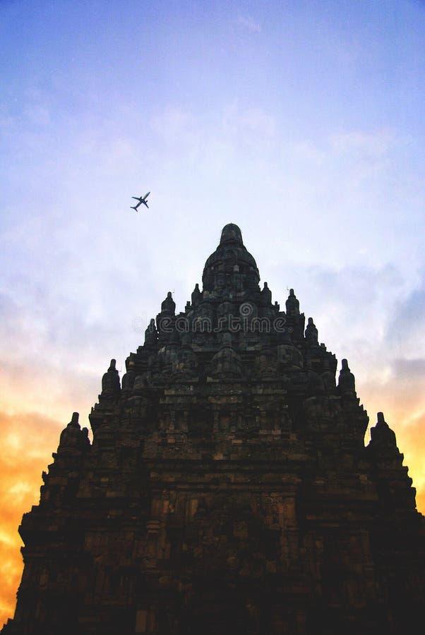 Ιστορικός σύνθετος Prambanan σε Yogyakarta, Ινδονησία στοκ εικόνα με δικαίωμα ελεύθερης χρήσης