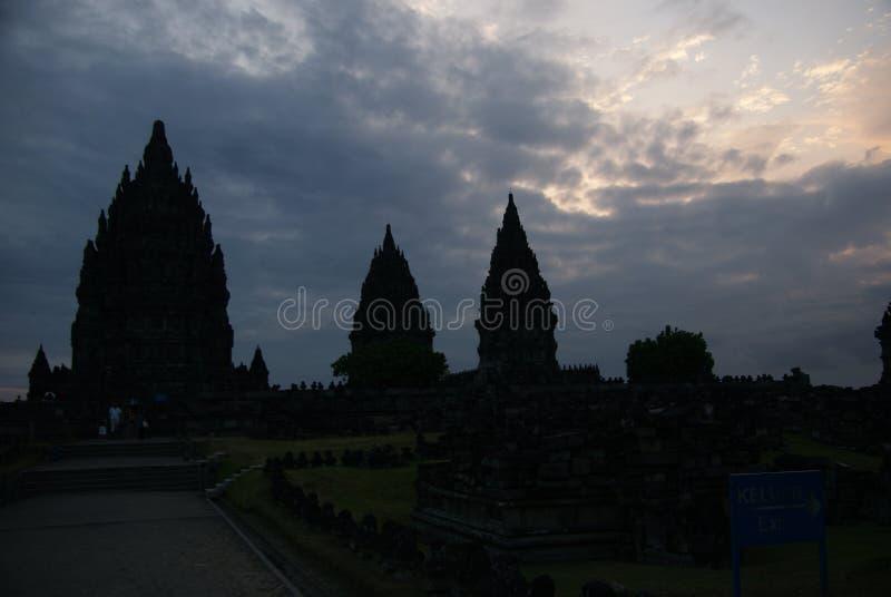Ιστορικός σύνθετος Prambanan σε Yogyakarta, Ινδονησία στοκ φωτογραφίες με δικαίωμα ελεύθερης χρήσης