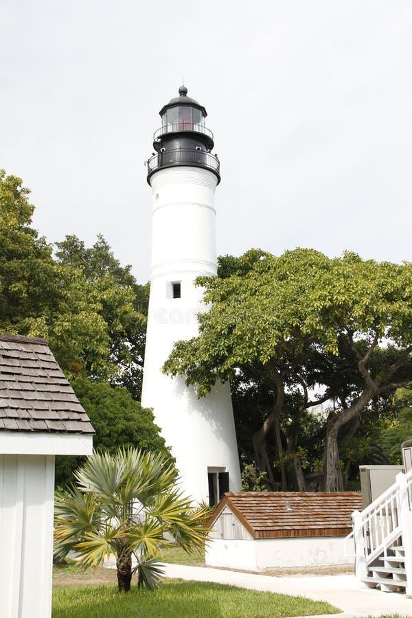 Ιστορικός φάρος της Key West που βρίσκεται στη Key West, Φλώριδα στοκ εικόνα