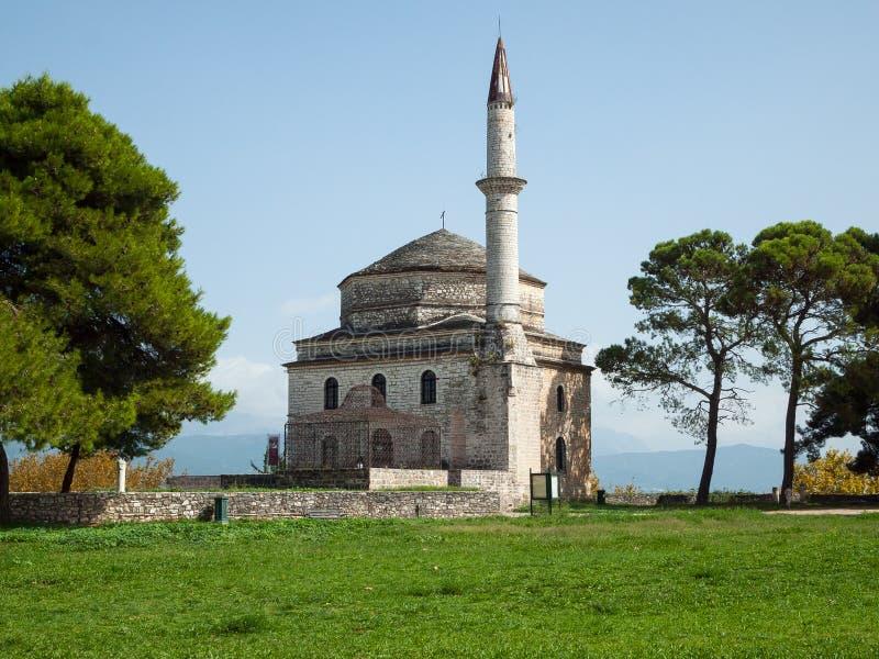 Ιστορικό ελληνικό μουσουλμανικό τέμενος στοκ φωτογραφίες με δικαίωμα ελεύθερης χρήσης