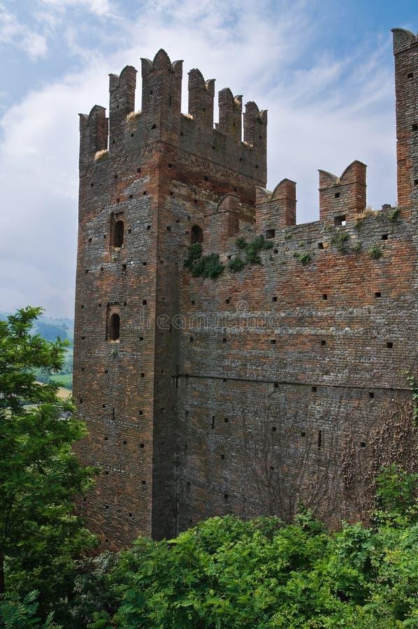 ιστορικό Ιταλία κάστρων romagna της Αιμιλία στοκ εικόνες με δικαίωμα ελεύθερης χρήσης