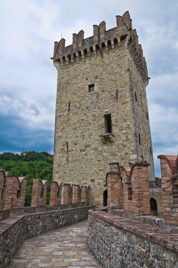 ιστορικό Ιταλία κάστρων romagna της Αιμιλία στοκ φωτογραφία