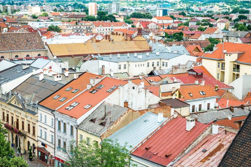 Ιστορικό κέντρο Kosice στοκ φωτογραφία με δικαίωμα ελεύθερης χρήσης