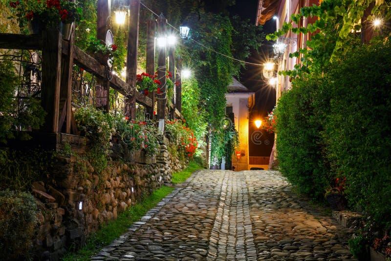 Ιστορικό κέντρο Sighisoara στοκ φωτογραφία με δικαίωμα ελεύθερης χρήσης