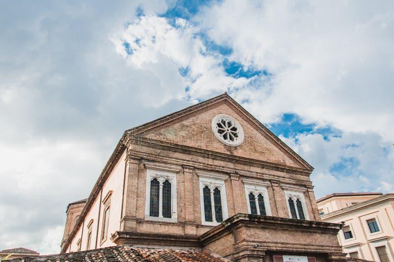 Ιστορικό κτήριο στη Ρώμη Ιταλία στοκ εικόνες