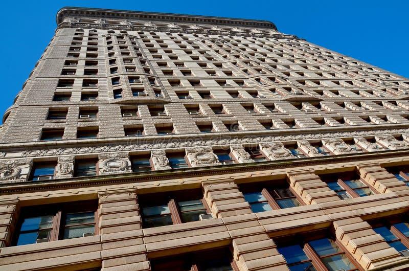 Ιστορικό κτήριο Flatiron στοκ εικόνα με δικαίωμα ελεύθερης χρήσης