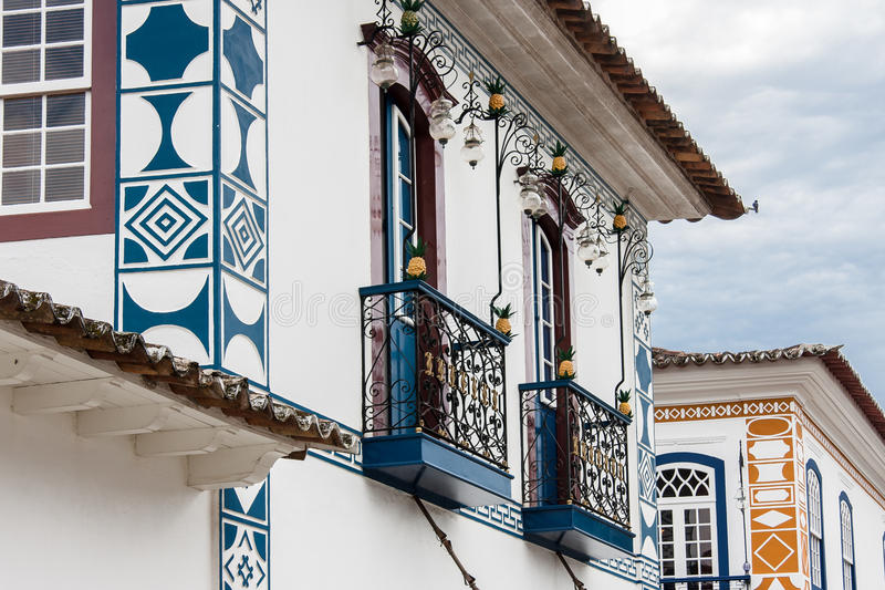 Ιστορικό κτήριο Paraty στοκ εικόνες