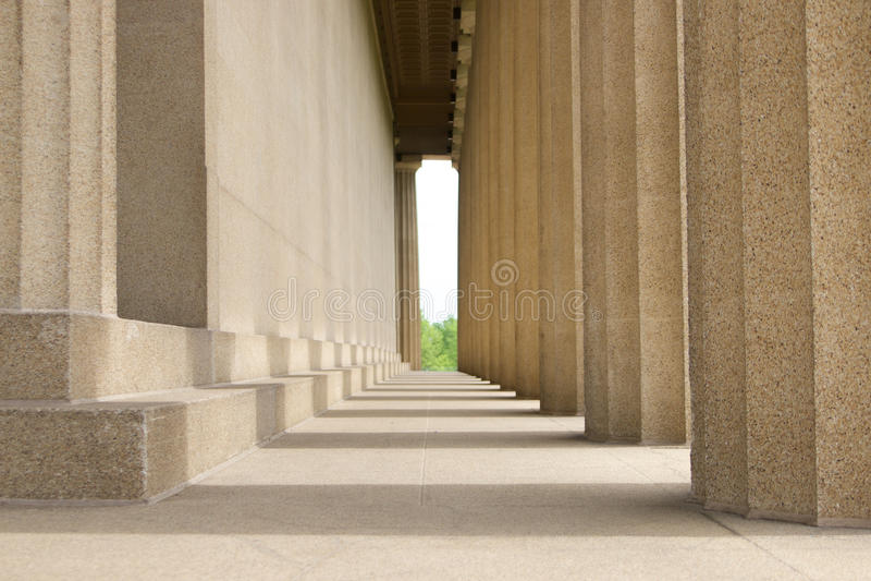 Ιστορικό κτήριο Parthenon στο πανεπιστήμιο Vanderbilt στοκ φωτογραφία