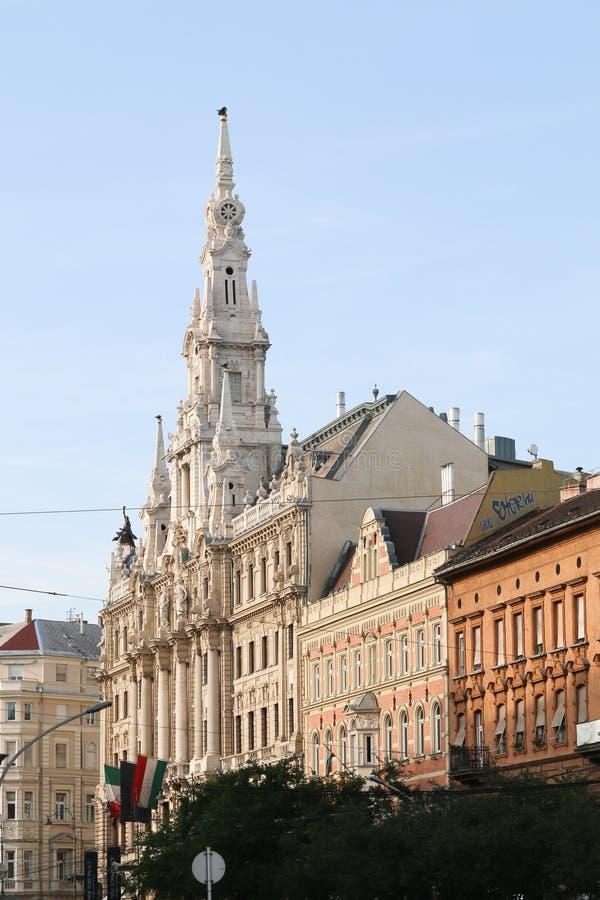 Ιστορικό μνημείο στη Βουδαπέστη στοκ εικόνες
