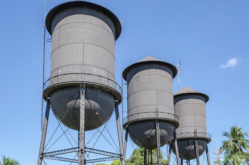 Ιστορικό μνημείο agua Caixas Δ ` Tres στο Πόρτο Velho RO στοκ εικόνα με δικαίωμα ελεύθερης χρήσης