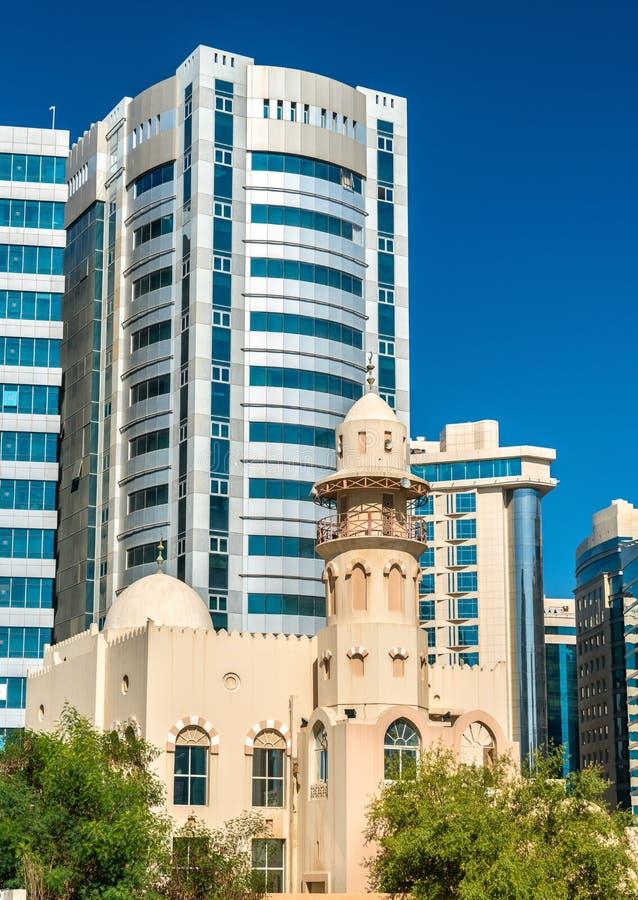 Ιστορικό μουσουλμανικό τέμενος σε Doha, Κατάρ στοκ εικόνα