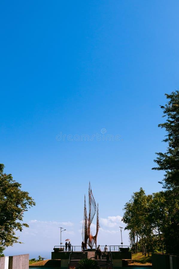 Ιστορικό νησί Corregidor Πολέμων του Ειρηνικού αναμνηστικό, Μανίλα, Philipp στοκ εικόνες