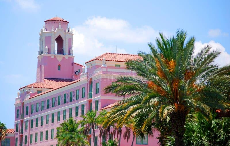 ιστορικό ξενοδοχείο της Φλώριδας vinoy στοκ εικόνες με δικαίωμα ελεύθερης χρήσης