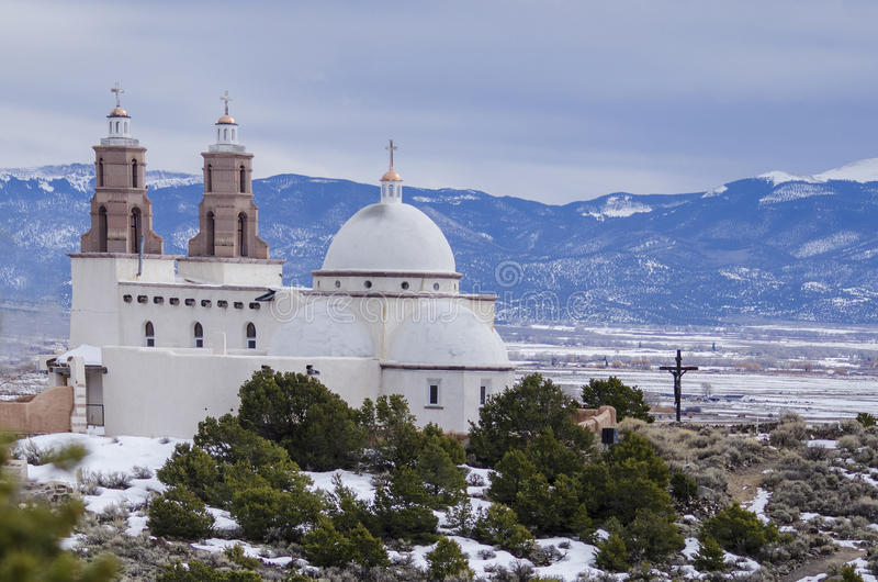 Ιστορικό ορόσημο εκκλησιών του San Luis στοκ εικόνες