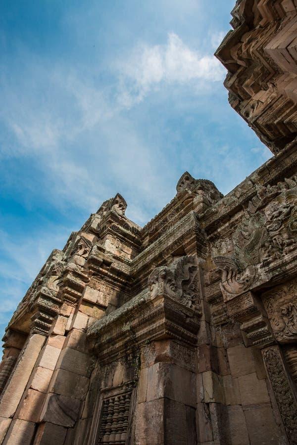 Ιστορικό πάρκο βαθμίδων Phanom Prasat στοκ φωτογραφίες