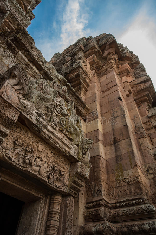 Ιστορικό πάρκο βαθμίδων Phanom Prasat στοκ εικόνες