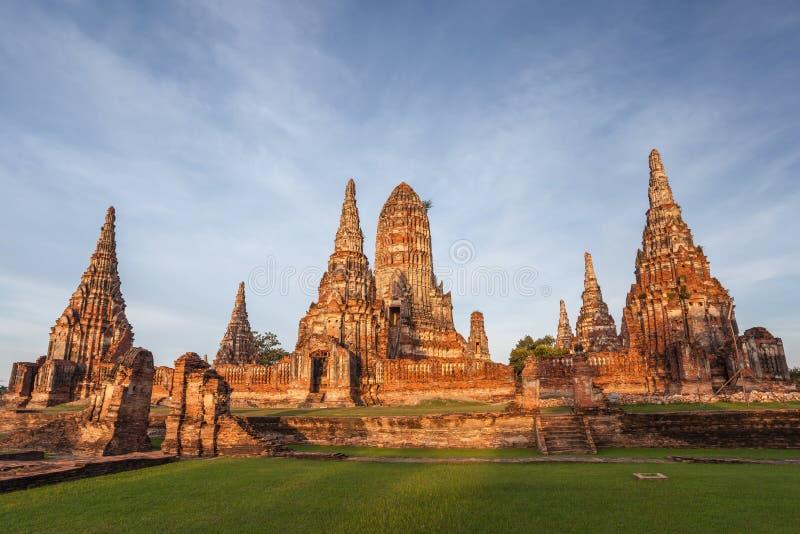 Ιστορικό πάρκο Ταϊλάνδη Ayutthaya στοκ φωτογραφία με δικαίωμα ελεύθερης χρήσης