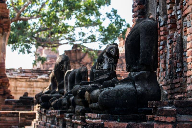 ιστορικό πάρκο ayutthaya στοκ φωτογραφία με δικαίωμα ελεύθερης χρήσης