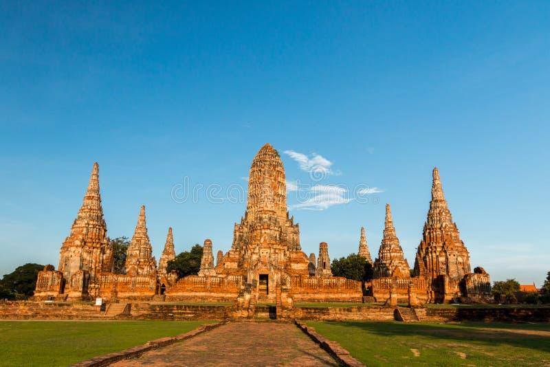 ιστορικό πάρκο ayutthaya στοκ εικόνες με δικαίωμα ελεύθερης χρήσης