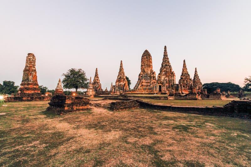 ιστορικό πάρκο ayutthaya στοκ φωτογραφία