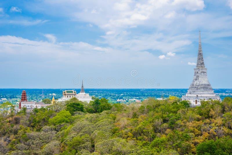 Ιστορικό πάρκο Khao WANG Nakhon Khiri Phra στοκ εικόνες