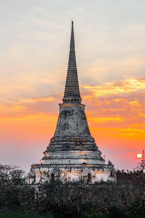Ιστορικό πάρκο Nakhon Khiri Phra, Khao WANG, Ταϊλάνδη στοκ φωτογραφίες