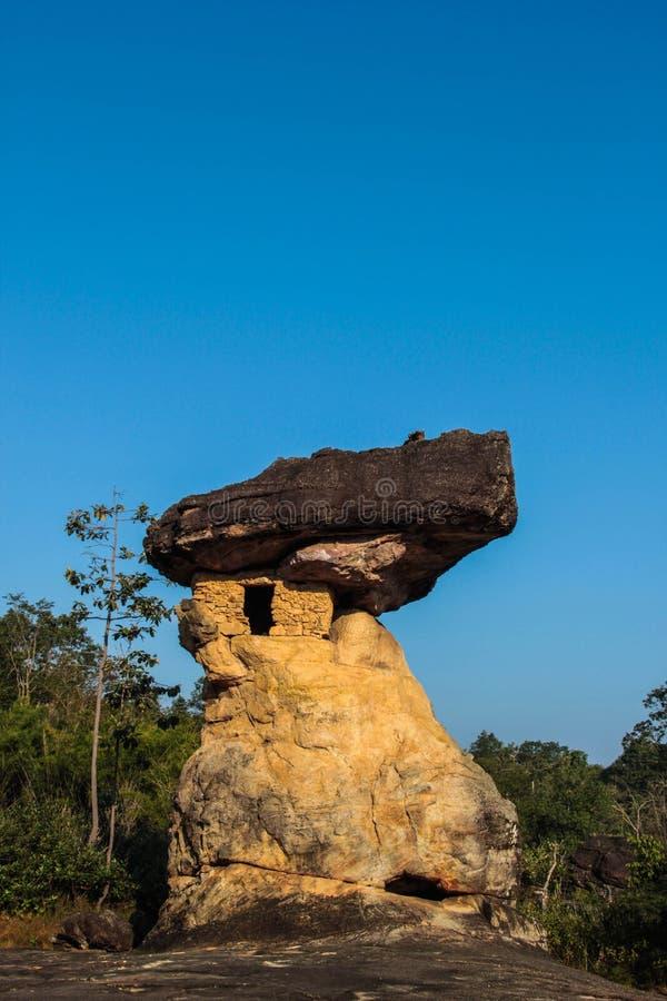 Ιστορικό πάρκο Phrabat Phu στοκ φωτογραφία