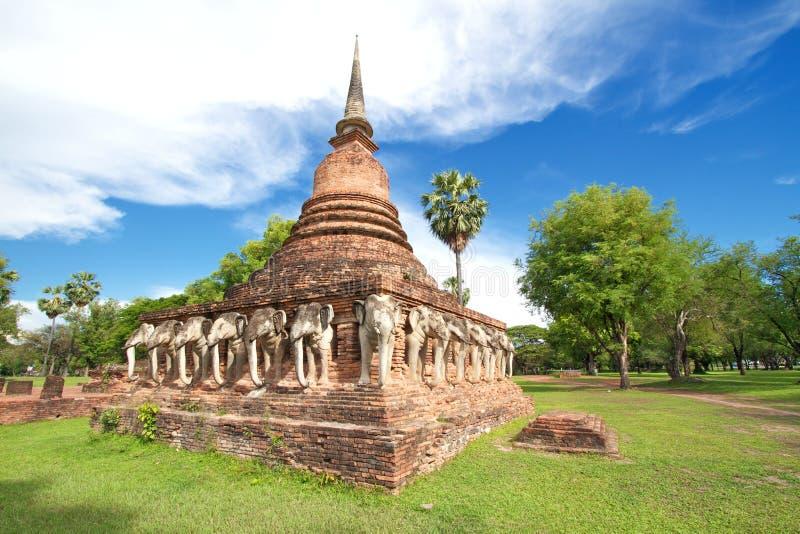 Ιστορικό πάρκο Sukhothai στοκ εικόνες με δικαίωμα ελεύθερης χρήσης