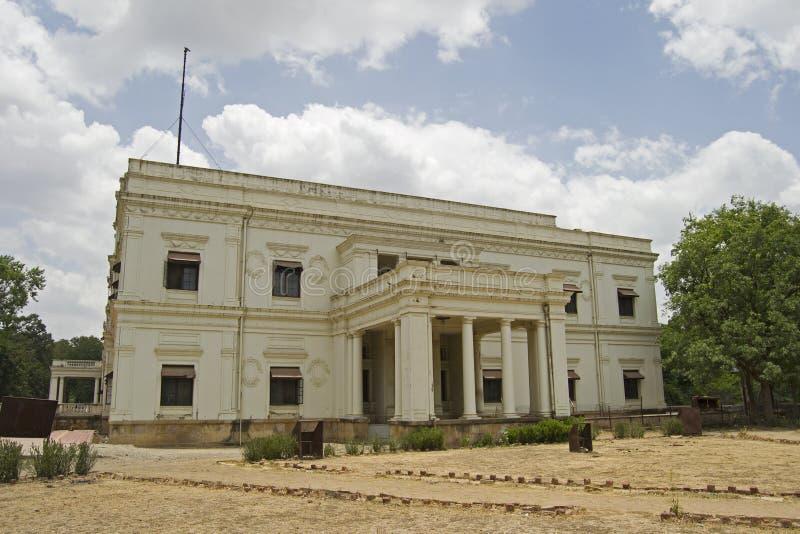 Ιστορικό παλάτι Indore Lalbagh στοκ εικόνες