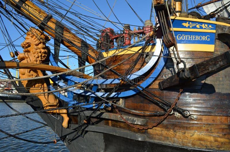 Ιστορικό σκάφος Gotheborg πανιών στοκ εικόνες