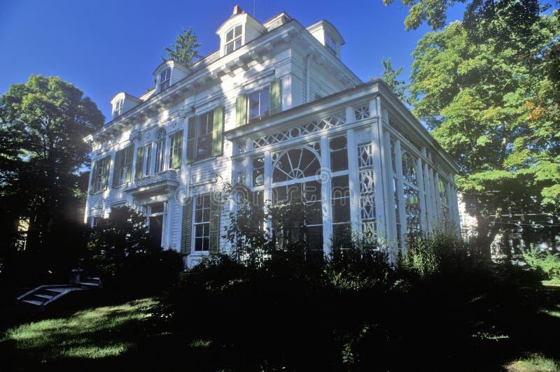 Ιστορικό σπίτι του Thomas Nast, πολιτικός σκιτσογράφος σε Morristown, NJ στοκ εικόνα με δικαίωμα ελεύθερης χρήσης