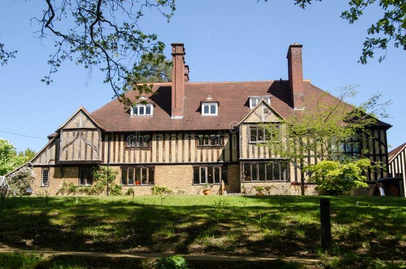 Ιστορικό σπίτι των καλλιτεχνών GF και των Watt της Mary, Compton, Surrey στοκ εικόνα