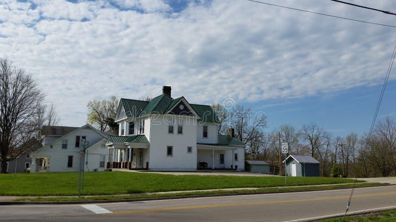 Ιστορικό σπίτι Williamstown Κεντάκυ στοκ φωτογραφίες