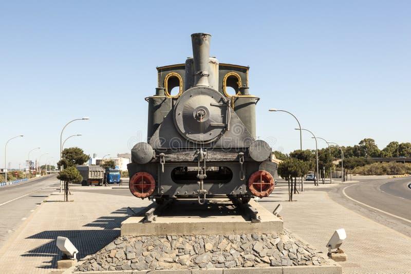 ιστορικό τραίνο ατμού στοκ φωτογραφία