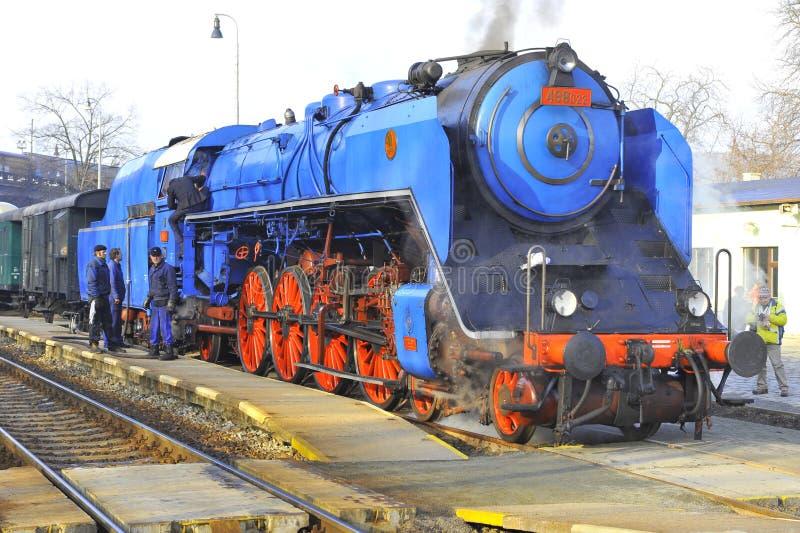 Download ιστορικό τραίνο εκδοτική στοκ εικόνες. εικόνα από μηχανή - 17055988