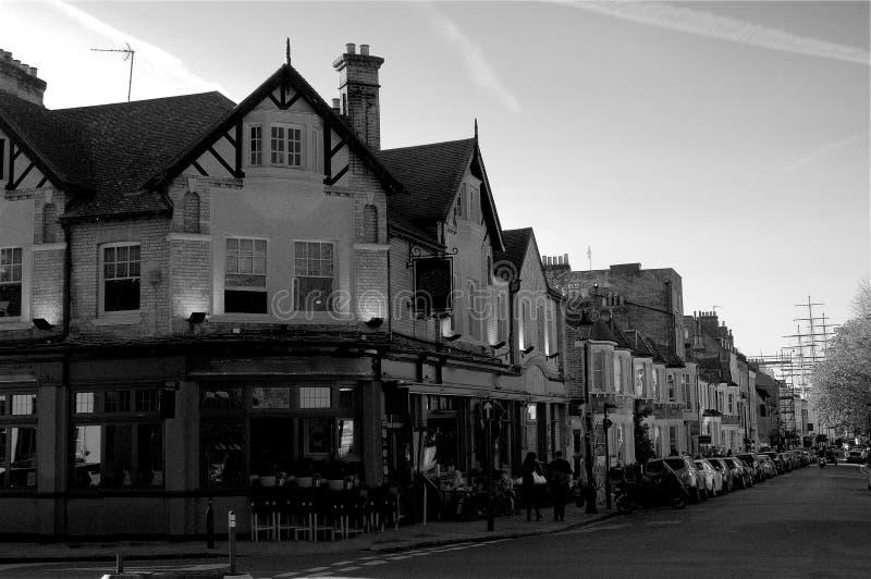 Ιστορικό χωριό του Γκρήνουιτς στο Λονδίνο Αγγλία Μεγάλη Βρετανία στοκ φωτογραφία