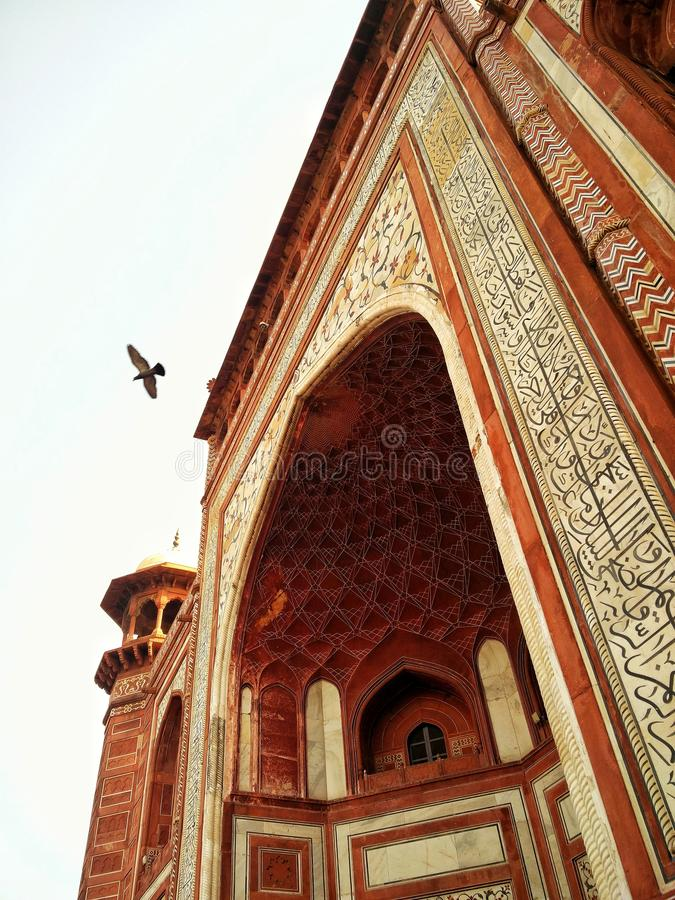 Ιστορικό Agra στοκ εικόνες