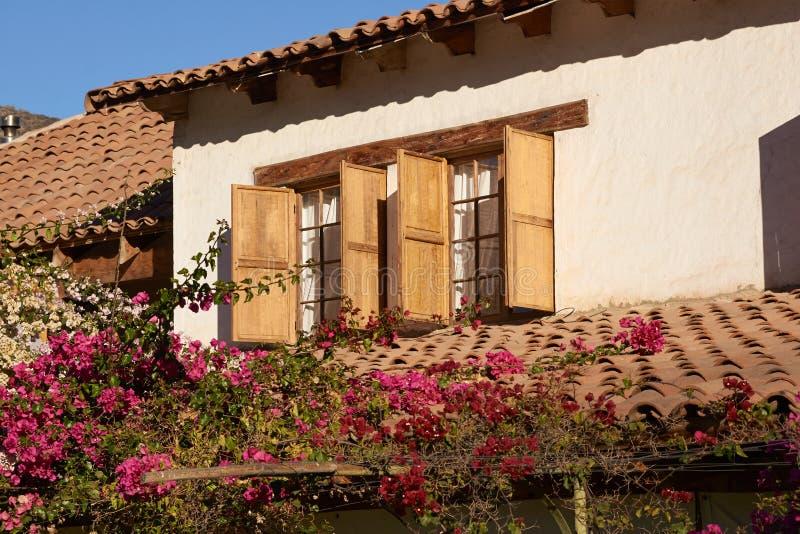 Ιστορικό Hacienda στοκ εικόνες