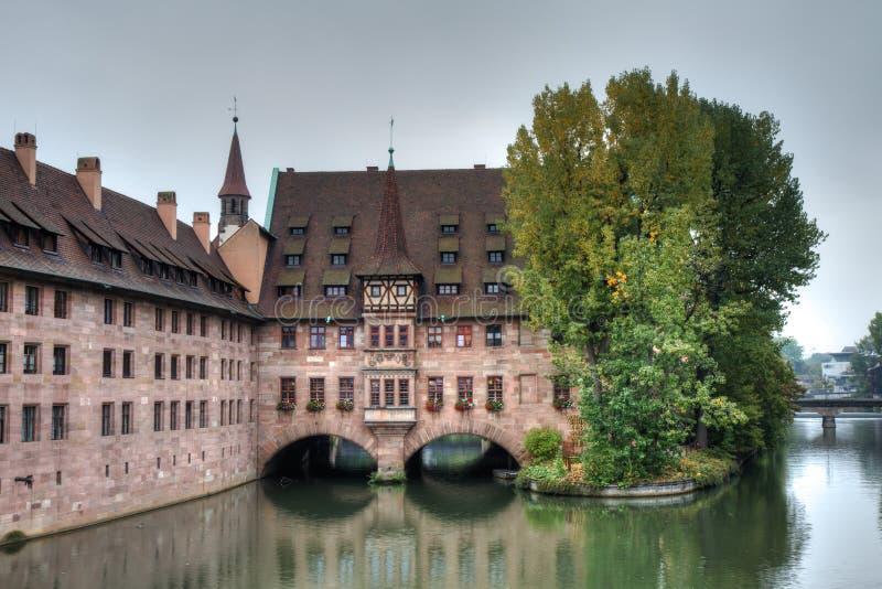 Ιστορικό heilig-Geist-Spital στοκ φωτογραφία με δικαίωμα ελεύθερης χρήσης