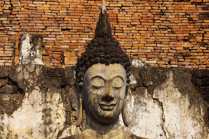 ιστορικό sukhothai αγαλμάτων πάρκ&ome στοκ φωτογραφία με δικαίωμα ελεύθερης χρήσης