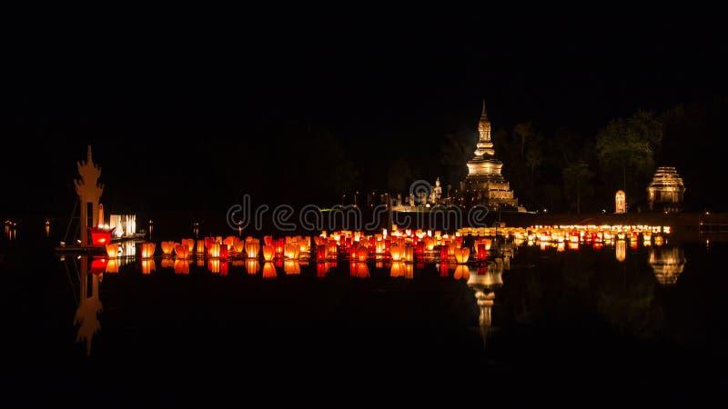 ιστορικό sukhothai πάρκων στοκ φωτογραφίες