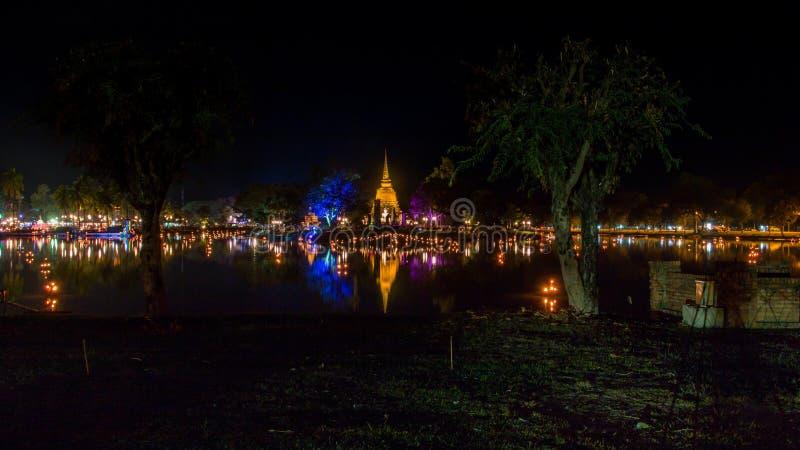 ιστορικό sukhothai πάρκων στοκ εικόνα με δικαίωμα ελεύθερης χρήσης