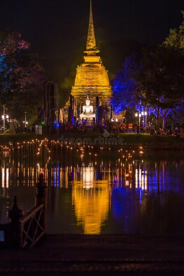 ιστορικό sukhothai πάρκων στοκ φωτογραφία