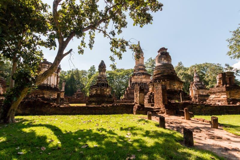 ιστορικό sukhothai πάρκων στοκ φωτογραφία με δικαίωμα ελεύθερης χρήσης