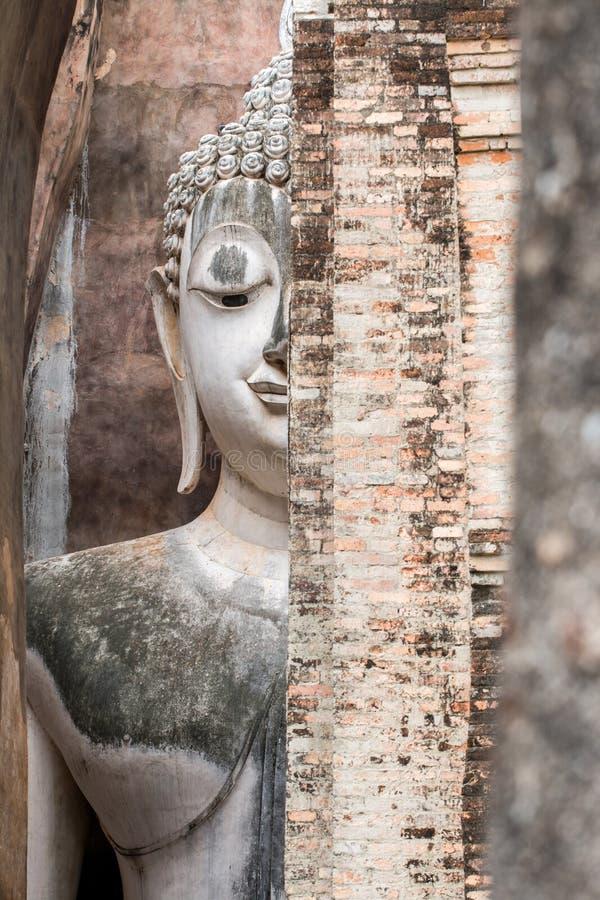 ιστορικό sukhothai πάρκων στοκ εικόνες